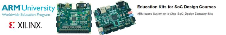 ARM® Education Kits for SoC Design Courses